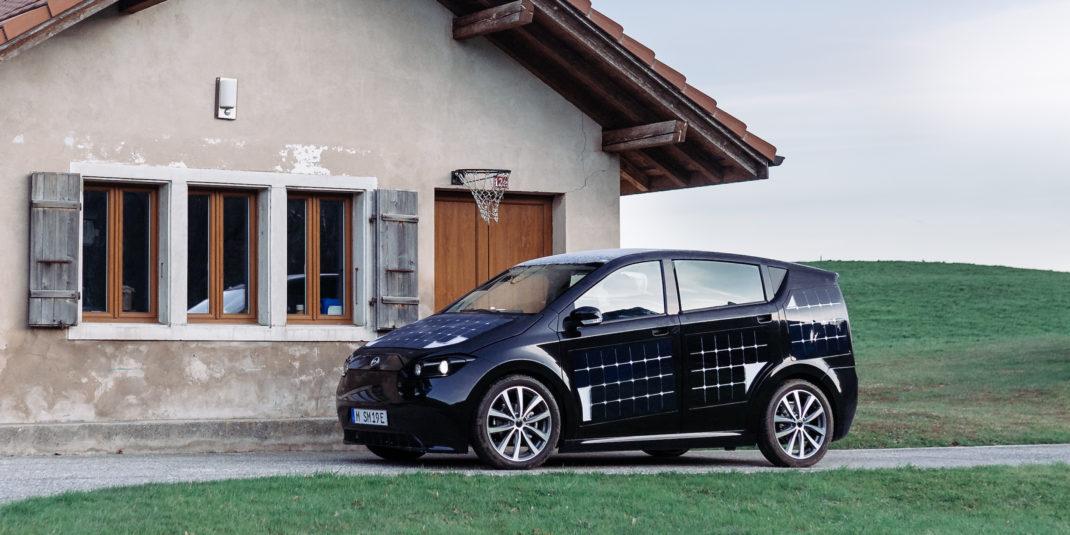 Sion, el coche eléctrico de Sono Motors