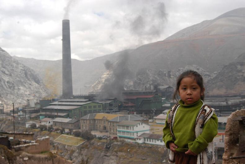 La Oroya, Peru. Los lugares más contaminados del mundo