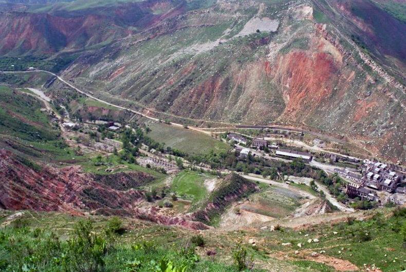 Mailuu-Suu, Kirguistán. Los lugares más contaminados del mundo
