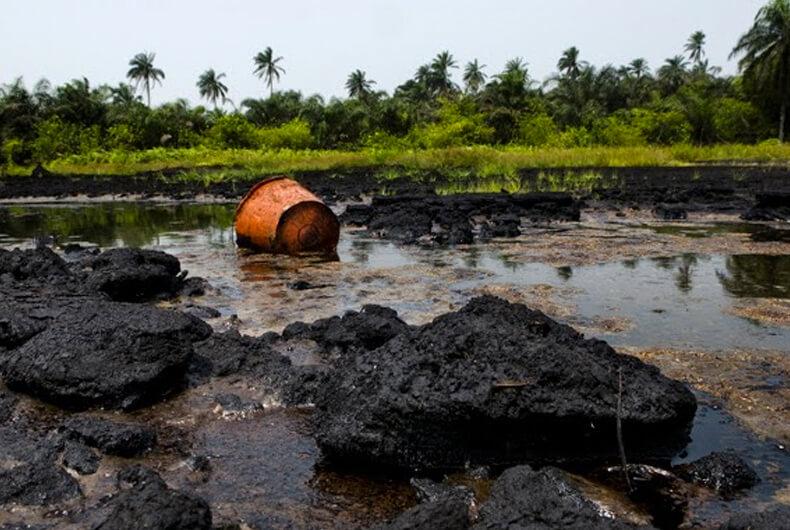 Delta del rio Niger, los lugares más contaminados del mundo
