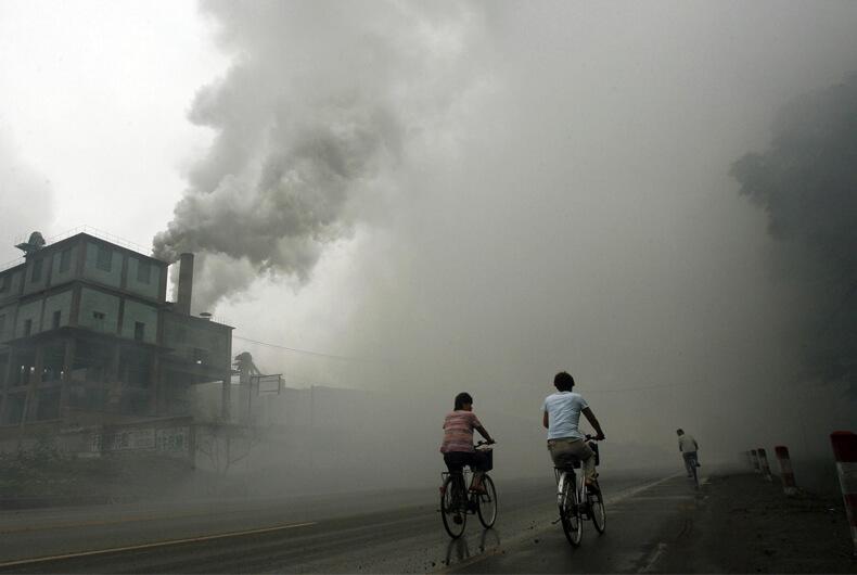 Tianying China, los lugares más contaminados del mundo