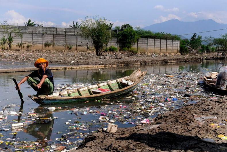 Rio Matanza Riachuelo, los lugares más contaminados del mundo