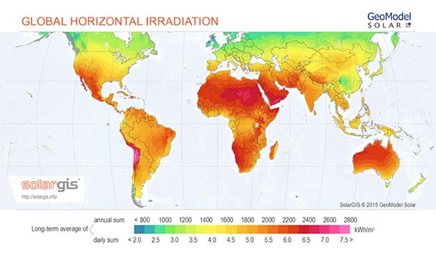 El cinturón solar de la Tierra, ¿Qué es y que países se encuentran dentro?