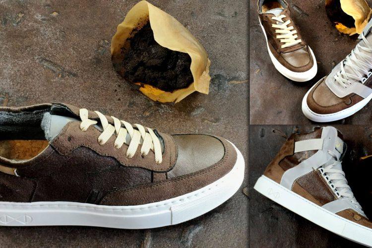 nat-2 Coffee, calzado a base de café reciclado