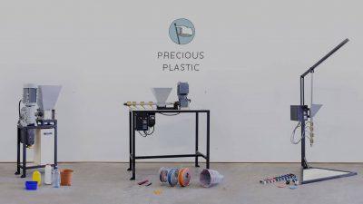 Precious Plastic, máquinas que convierten el plástico en objetos útiles