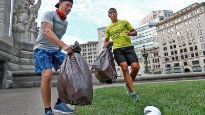Plogging, la nueva tendencia en el cuidado del medio ambiente