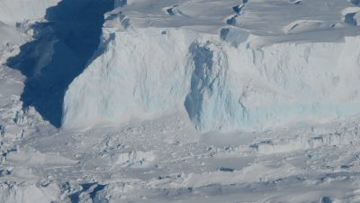 Thwaites, el glaciar más peligroso se está derritiendo
