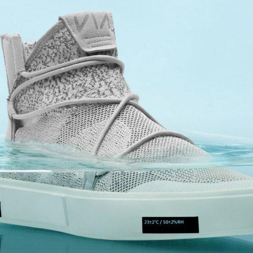 98c4284d Zapatos impermeables hechos de residuos plásticos del océano - Engimia