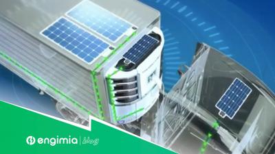 Paneles solares para transporte refrigerado