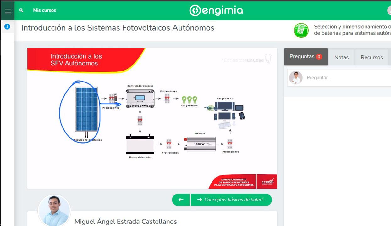 Selección y dimensionamiento de banco de baterías para sistemas autónomos